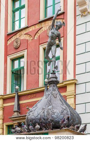 Boy Sculpture In Gdansk