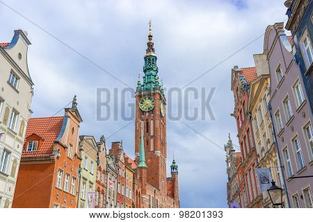 Old City Hall Gdansk, Poland.
