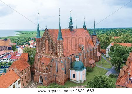 Cathedral Church In Frombork