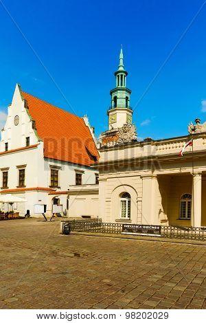 Old Town Square In Poznan, Poland