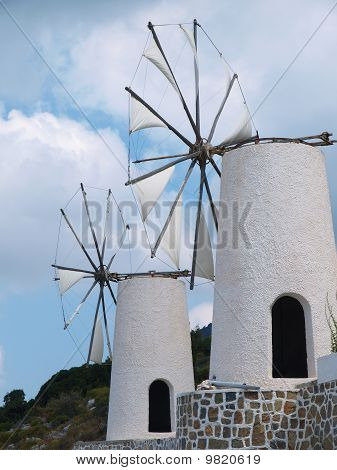 Two Windmill