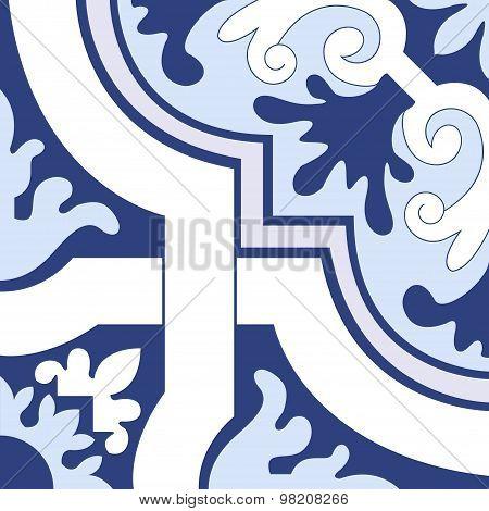Vector Ceramic Tiles Pattern