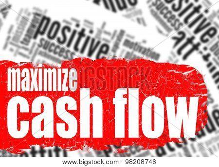 Word Cloud Maximize Cash Flow