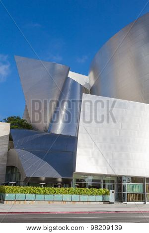 LOS ANGELES - JULY 26: Frank Gehry's modern architectural design of the Walt Disney Concert Center