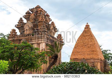 Po Nagar towers in Nha Trang, Vietnam