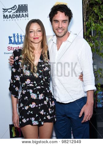LOS ANGELES - JUL 20:  Damon Gameau & Zoe Tuckwell-Smith arrives to the