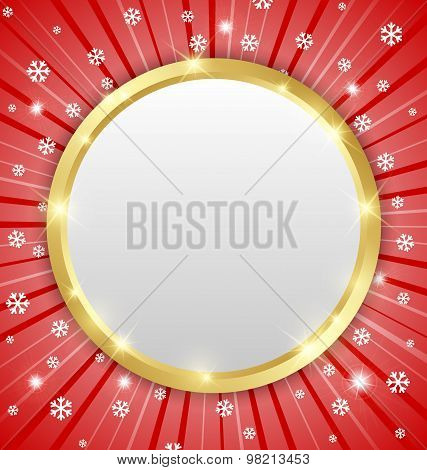 Christmas Winter Plaque