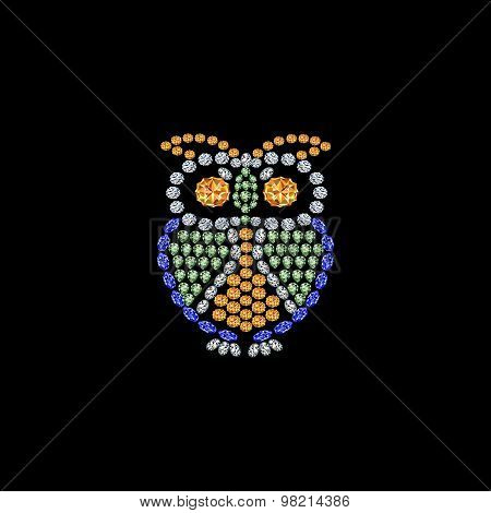 owl from jewels