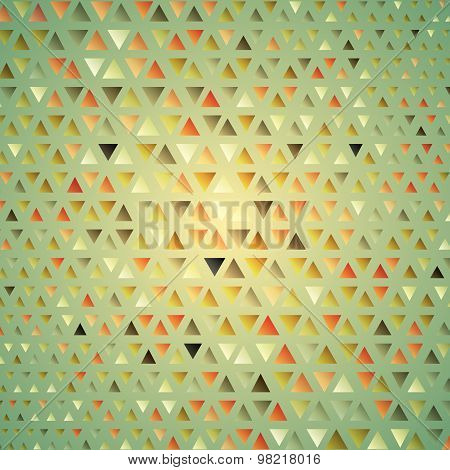 Texture with trianglesMosaic. can be used for wallpaper, pattern fills, web page background, surface