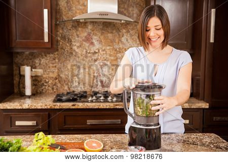 Using A Blender In The Kitchen