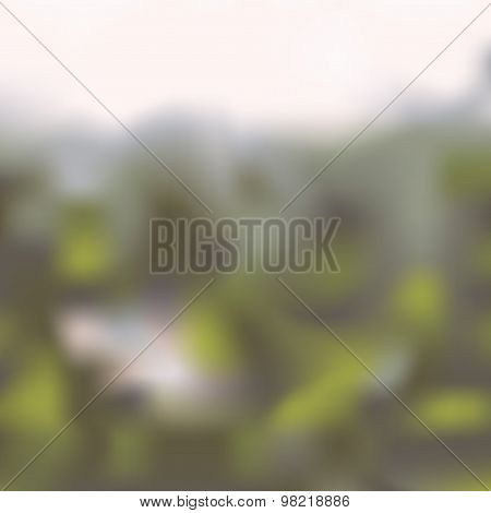 Magic blurred abstract background in different colors.