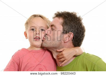 Boy And His Daddy Together
