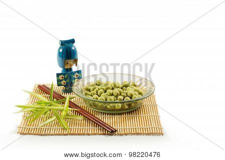 Coated Peanuts Wasabi Flavour