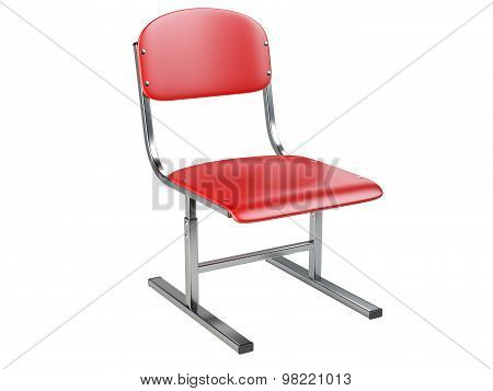 The Red Office Chair.