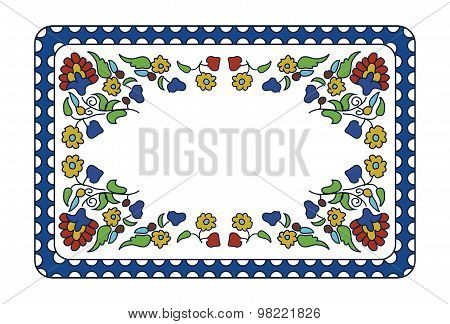 Arabian Art Floral Pattern