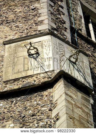 Sundials of St. Botolph's Church, Cambridge
