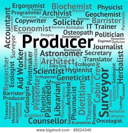 Producer Job Shows Employment Occupations And Production