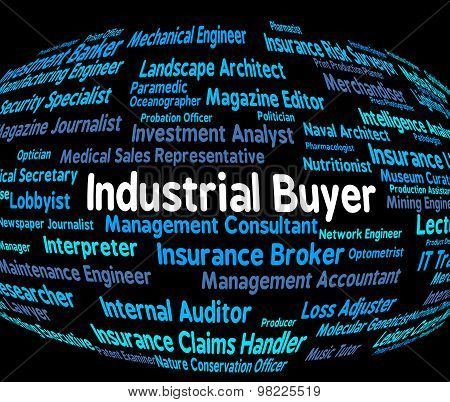Industrial Buyer Shows Purchasers Employment And Industries