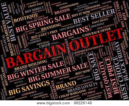 Bargain Outlet Represents Word Shop And Outlets