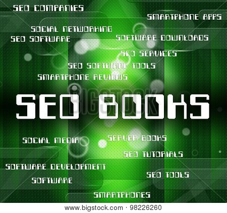 Seo Books Represents Textbook Fiction And Engine