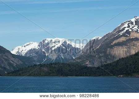 Mountains and Forests in Glacier Bay