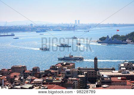 View Of Bosporus