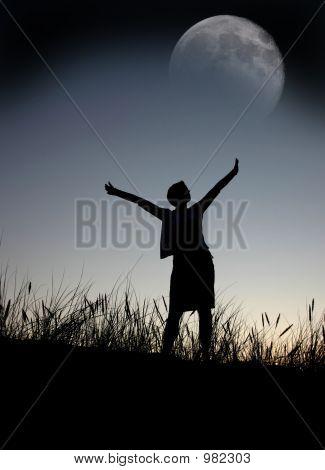 Praying To The Moon