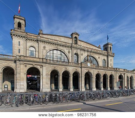 Zurich Main Railway Station Building