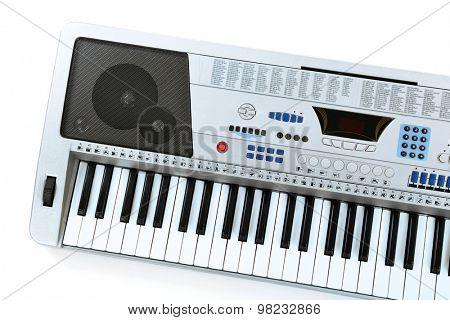 Synthesizer isolated on white