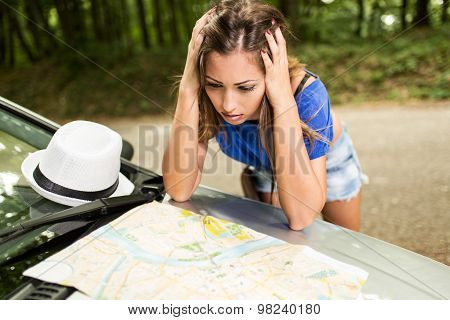 Lost Girl On Travel