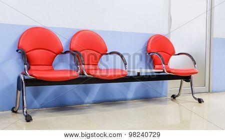 Red Modern Seat