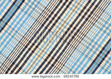 Blue Tartan Pattern.