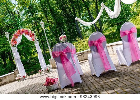 Wedding Arch Outdoors