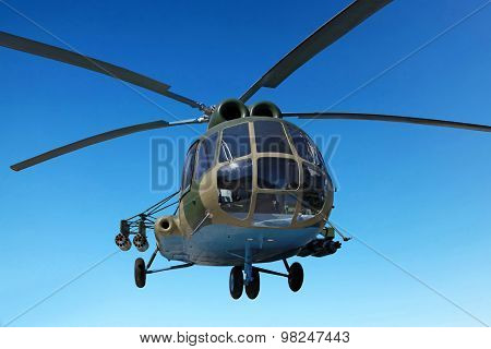 The Mi-8 Helicopter