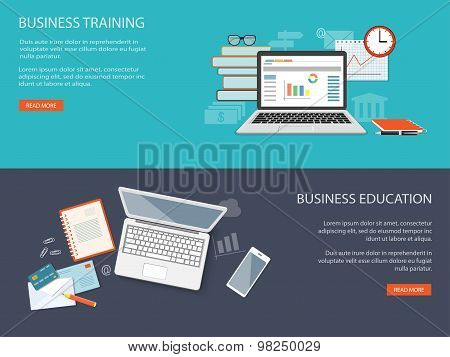 Design For Website Of Business Training