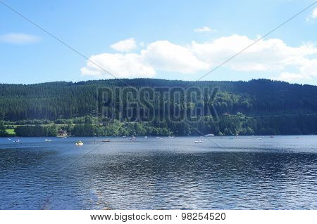 Recreation on the Lake Titisee