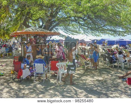 El Rodadero Beach In Colombia