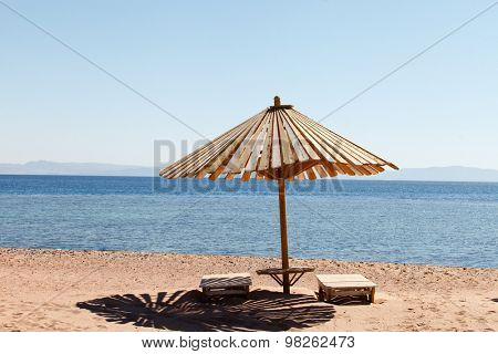 umbrella on the beach