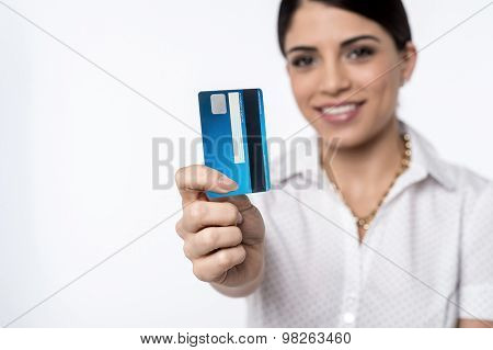 Ready To Shop With Credit Card !
