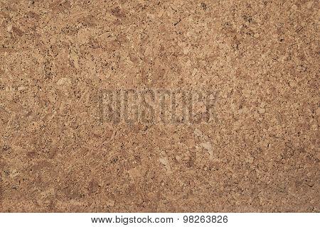 empty cork background texture