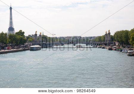 Paris - France, Seine River
