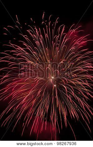 Fireworks At Fiesole