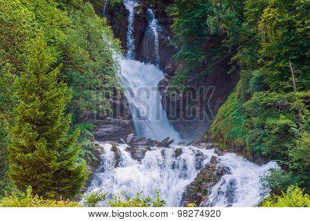 Scenic Swiss Waterfalls