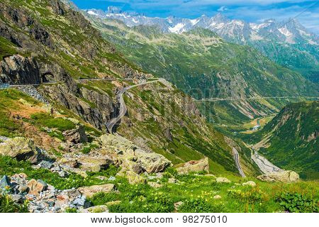 Swiss Alps Scenic Road