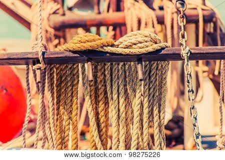 Yacht Mooring Rope