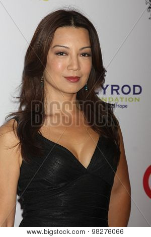 LOS ANGELES - AUG 8:  Ming-Na Wen at the 17th Annual HollyRod Designcare Gala at the The Lot on August 8, 2015 in West Hollywood, CA