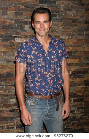 LOS ANGELES - AUG 8:  Jason Thompson at the General Hospital Fan Club Luncheon Arrivals at the Embassy Suites Hotel on August 8, 2015 in Glendale, CA