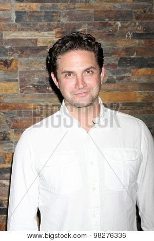 LOS ANGELES - AUG 8:  Brandon Barash at the General Hospital Fan Club Luncheon Arrivals at the Embassy Suites Hotel on August 8, 2015 in Glendale, CA