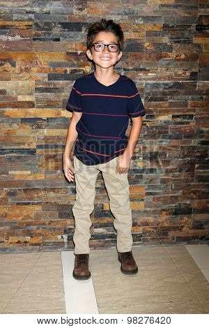 LOS ANGELES - AUG 8:  Nicolas Bechtel at the General Hospital Fan Club Luncheon Arrivals at the Embassy Suites Hotel on August 8, 2015 in Glendale, CA