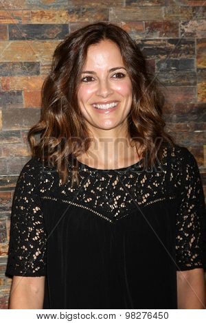 LOS ANGELES - AUG 8:  Rebecca Budig at the General Hospital Fan Club Luncheon Arrivals at the Embassy Suites Hotel on August 8, 2015 in Glendale, CA